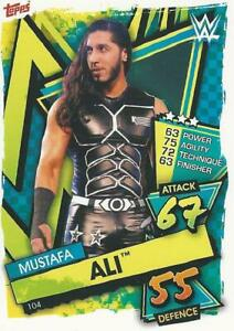 WWE TOPPS SLAM ATTAX 2021 MUSTAFA ALI SUPERSTAR CARD COMB P&P