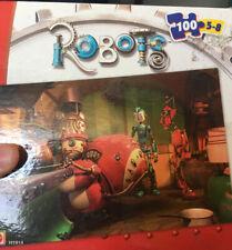 Matel Robots H1914, 100 Piece Puzzle Factory Sealed
