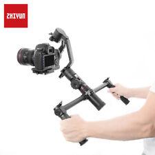 ZHIYUN Crane 2 Extended Dual Handheld Handle Grip Bracket Stabilizer Gimbal Hold