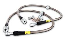STOPTECH STAINLESS STEEL BRAIDED REAR BRAKE LINES FOR 99-05 PONTIAC GRAND AM