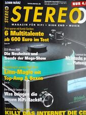 Stereo 3/08, Audio Research sp 15, Visaton concorde Mk III, Linn Majik I, 140, Audio