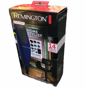 New Remington Haircut Kit Home Stylist 14 Piece Clippers Trimmer Salon Quality