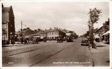 More details for leicester. belgrave & melton roads # 6505 by valentine's. trams.