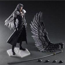 "11"" Final Fantasy VII Advent Children Sephiroth Play Arts Kai PVC Figure No Box"