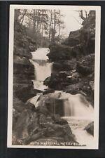 L@@K  Wath Waterfall Pateley Bridge 1920's? Postcard Yorkshire ~ SUPER IMAGE