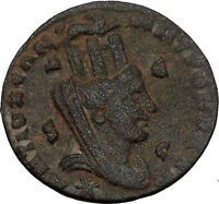 PHILIP II Roman Caesar 244AD Antioch Tyche Large Ancient Roman Coin i52773