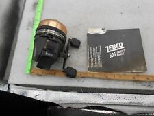 VINTAGE ZEBCO 606 SPINCASTING FISHING REEL 1986 BRUNSWICK USA WITH MANUAL