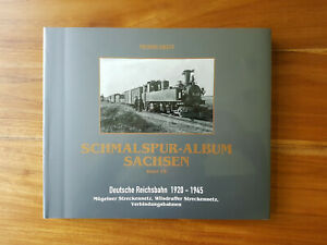 Schmalspur Album Sachsen Band VII Mügeln Netz, Wilsdruff Netz