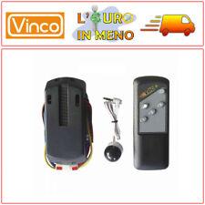 KIT TELECOMANDO UNIVERSALE VINCO 70940 COMPATIBILE VENTILATORE A SOFFITTO VINCO