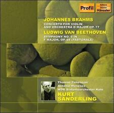 Beethoven: Symphony No. 6; Brahms: Concerto for Violin and Cello, Op. 102, New M