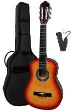 Gitarre/Kindergitarre1/4-K1L-sunburst linkshänder-lefthand-Zubehör-Tasche-Band!n