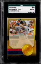2012 Topps Albert Pujols Golden Greats SGC 88 / 8