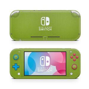 For Nintendo Switch Lite Green Matt Vinyl Skin Wrap Case Cover Sticker Protector