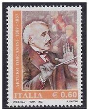 Italia 2007 50° anniversario morte di Arturo Toscanini  MNH