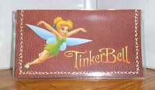 TINKERBELL CHECKBOOK COVER. DISNEY CARTOONS......FREE SHIPPING