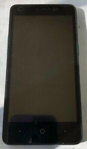[BROKEN] ZTE Z828 Avid Plus 4g LTE Smartphone Black Unknown Cell Phone NO POWER