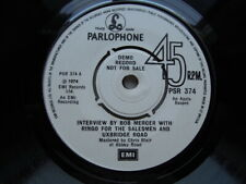 'RINGO STARR 45 DEMO ' INTERVIEW BY BOB MERCER  / ONLY YOU ' RARE !