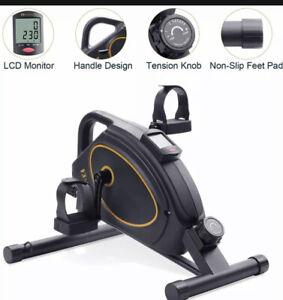 *BNIB* MARNUR - Mini Elliptical Exercise Bike Seated Trainer Under Desk Pedal