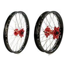 Paires de roues Renforcé PROSTUF Noir/rouge Honda CRF 250 2004 à 2013