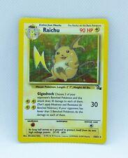 RAICHU 14/62 Holo Rare Fossil Set - Pokemon Card WOTC