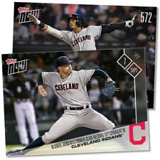 2017 Topps Now #572 KLUBER & GONZALEZ POWER FRANCHISE-RECORD 15TH STRAIGHT WIN
