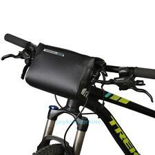 ROSWHEEL 3L Cycling Bike Handlebar Front Basket Accessories Waterproof PVC Bag