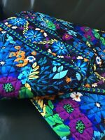 VERA BRADLEY Large Duffel Bag MIDNIGHT BLUES Retired, New with Tags!