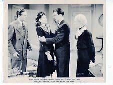 Shadow Of Suspicion-Marjorie Weaver-Peter Cookson-George J. Lewis-8x10-B&W-Still