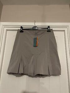 Karen Millen Uk14 Box Pleated Lined Skirt Bnwt. 19'' long. 17'' across waist *