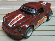 For H0 Slotcar Racing Model Railway Porsche Turbo with Tyco Chassis And