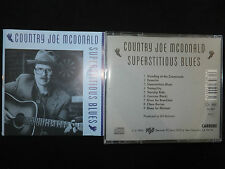 CD COUNTRY JOE MCDONALD / SUPERTITIOUS BLUES /