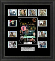 Lotr The Two Towers Framed 35mm Film Cell Memorabilia Filmcells Movie Cell