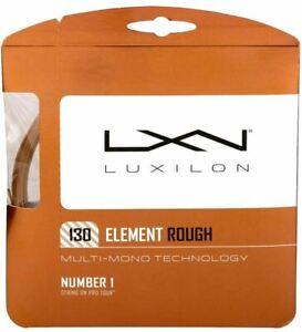 (1,38€/m) Luxilon Element Rough 130 12 m Tennissaiten