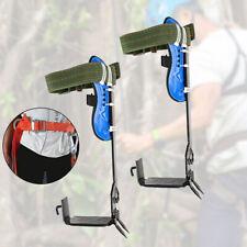 Adjustable Treepole Climbing Tool Spike Spurs Safety Belt Straps Rope Us
