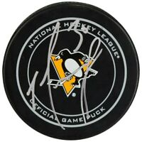 MATT MURRAY Autographed Pittsburgh Penguins Official Game Puck FANATICS