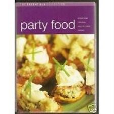 The Essentials Cookbook Collection Party Food Recipes  ++++