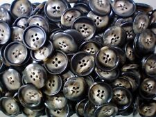 Z65 18mm 28L Natural Cream Brown Patterned Animal Print 2 Hole Quality Buttons
