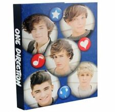 1D ONE DIRECTION A4 RING BINDER PAPER FILE FOLDER SCHOOL STATIONERY HARRY 248812