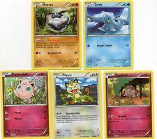 pokemon 24 verschiedene POKEMON keine trainer XY 10 SCHICKSALS - SCHMIEDE