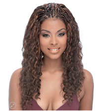 "Janet - 100% HUMAN HAIR Premium Blend Braid - New Deep Bulk 18"" - Colour 2"