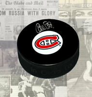 Cristobal Huet Montreal Canadiens Autographed Puck