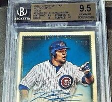 2016 Topps Five Star SCHWARBER Rookie Autograph GOLD AUTO 7/50 BGS 9.5 w/sub 10!
