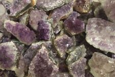 Wholesale Bulk Lot: 1 lb Amethyst Crystal Cluster Druzy Geodes Small Specimens