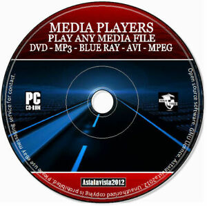 Ultimate 2021 Pro Media Players Codecs Play Any DVD Mp3 AVI Mpeg Blue Ray PC CD