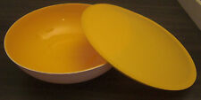 Tupperware C 152 Allegra 3,5 l Schüssel mit Deckel Orange / Weiß Neu OVP