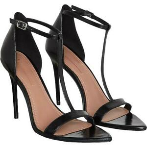 BHFO 5292 BCBGMAXAZRIA Womens Amilia Orange Dress Sandals Shoes 8 Medium B,M