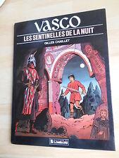 VASCO N°4 : LES SENTINELLES DE LA NUIT     Ed du Lombard EO janvier 1986