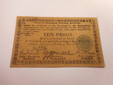 Philippines Emergency Currency Negros Occidental WWII Ten Pesos Nice - # 91550