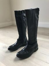 Camper Boots Shoes Tall Black Women Size 37