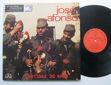 LP Jose Afonso - Cantigas Do Maio - VG++ Le Chant Du Monde Jose Maria Branco